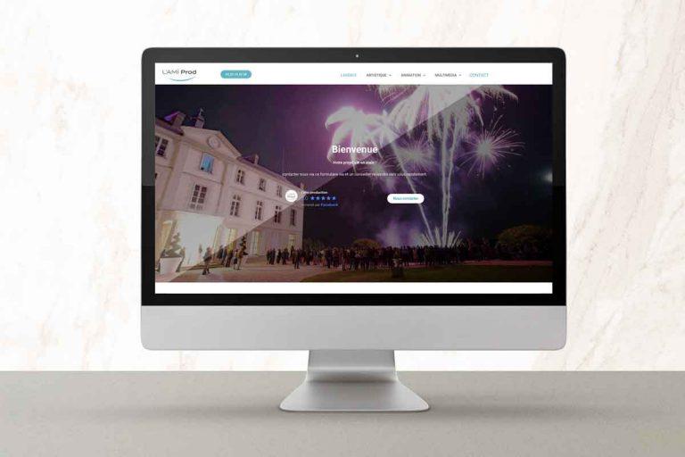 Site internet réalisé par Fanch' création